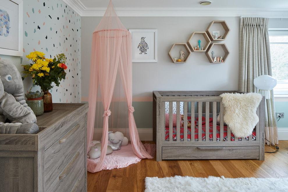 Детская комната для первенца